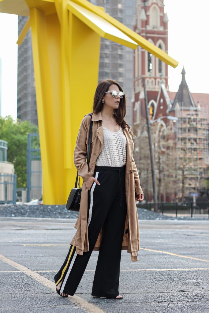The Drapey trench: A coat for all seasons
